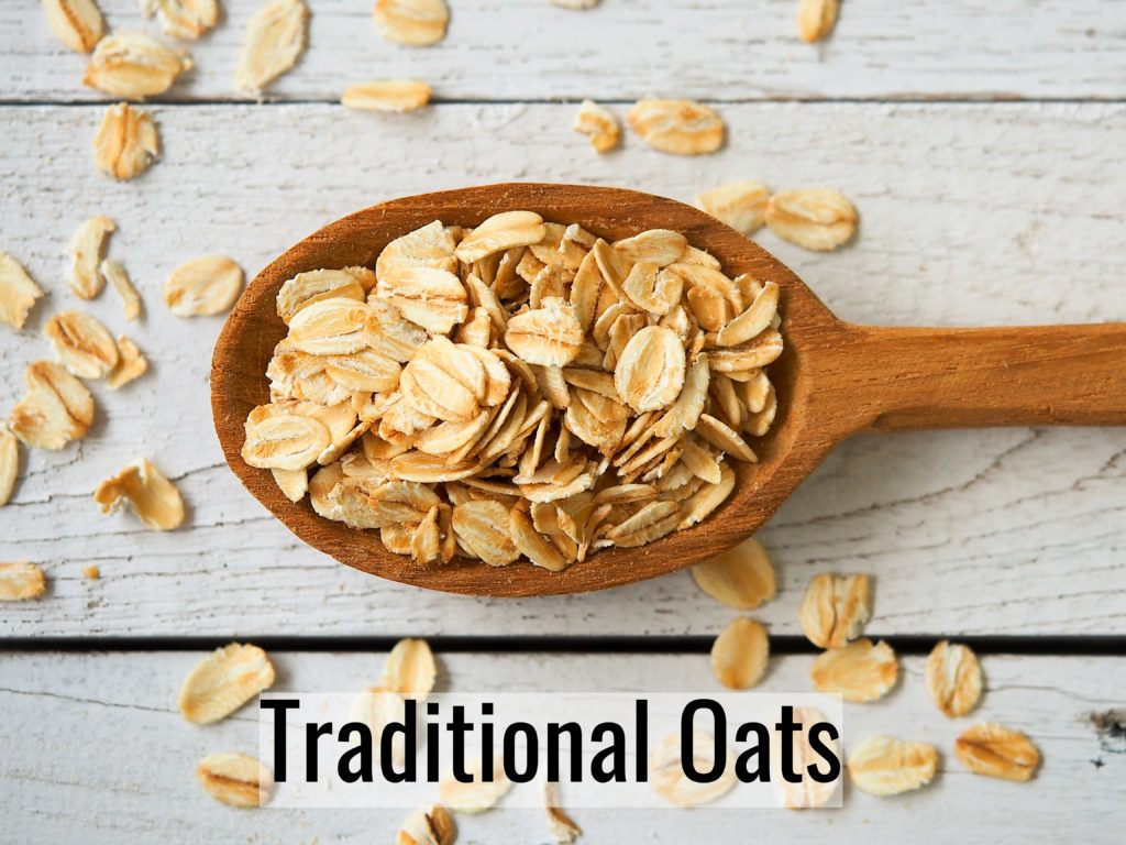 picture of traditional oats that will be used to make oats overnight