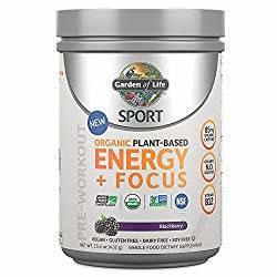 Garden of Life Pre Workout Energy + Focus can