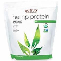Bag of Nutiva Hemp Protein powder