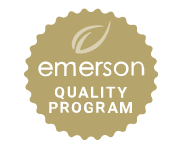 Emerson Wellevate Gold Rated Product logo used to signify a product or brand from it online dispensary has past its most stringent certification