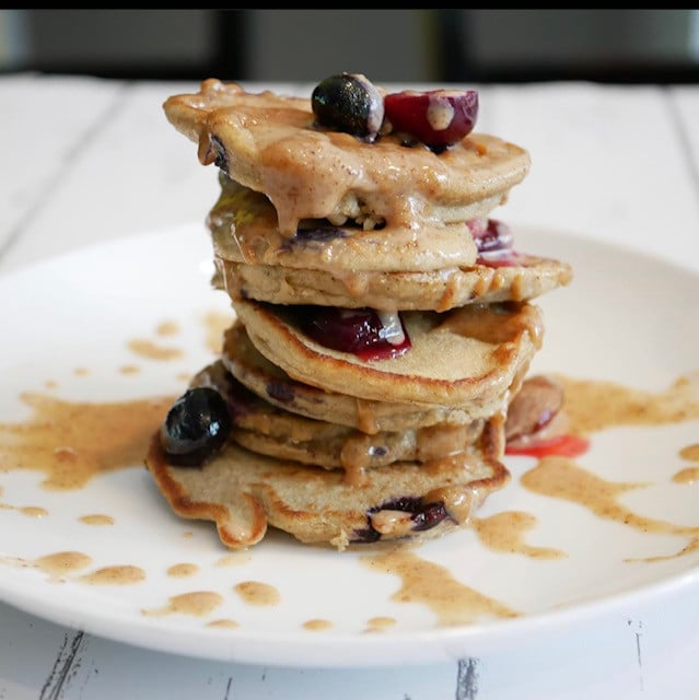 A stack of delicious pancakes suitable for an elimination diet breakfast.