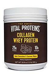 Tub of Vital Proteins Collagen Whey Protein