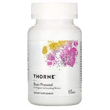 Thorne prenatal vitamin
